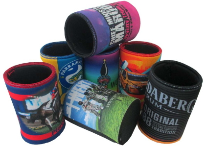 stubby holders with sublimated images