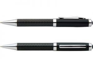 carbon fibre pen black