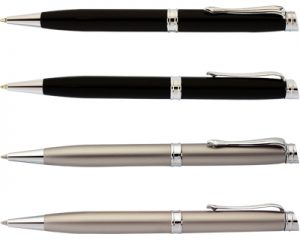 prestige pen black, chrome