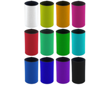 multiple stubby holders individual colours